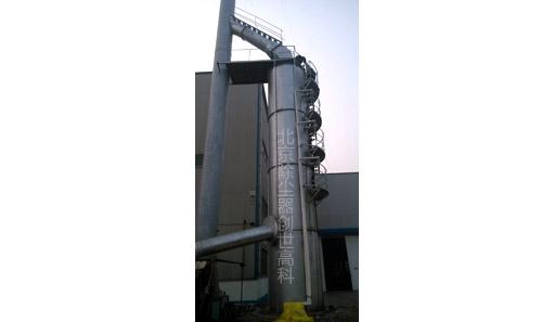 立式脱硫锅炉除尘设备正在使用中图片