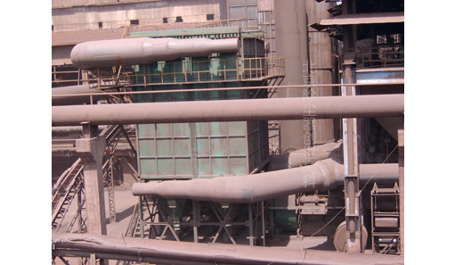硅铁炉布袋除尘器图片