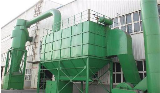 锅炉布袋除尘器电厂外景拍摄图片