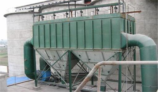 水泥厂布袋除尘器图片
