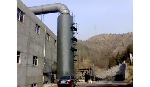 立式脱硫锅炉除尘器现场实拍图片