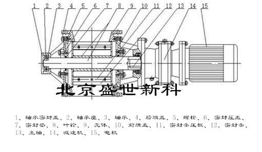 锁气卸灰装置结构图片